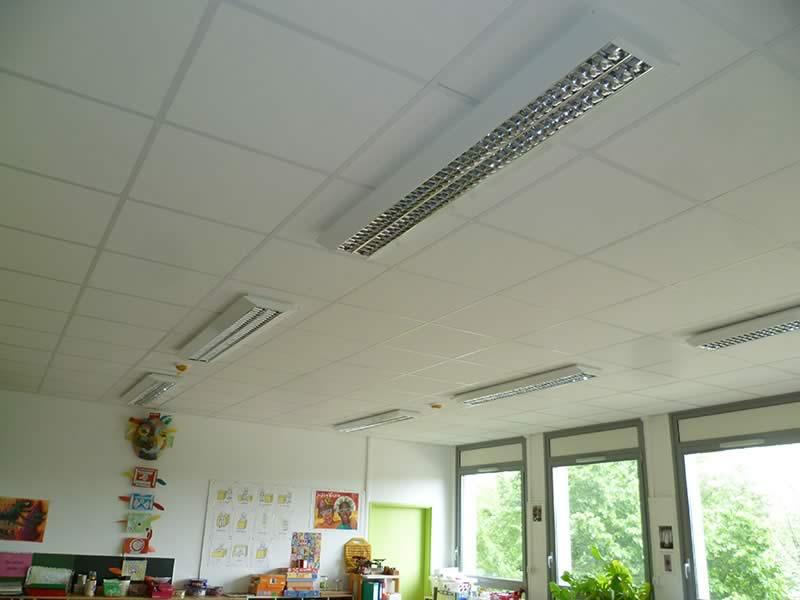 ARRIVELEC - Electricien Montélimar - eclairage-salle-de-classe