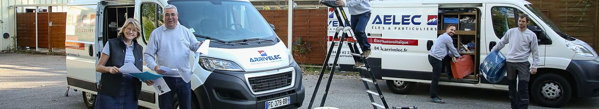 ARRIVELEC - notre équipe- Société électricité générale