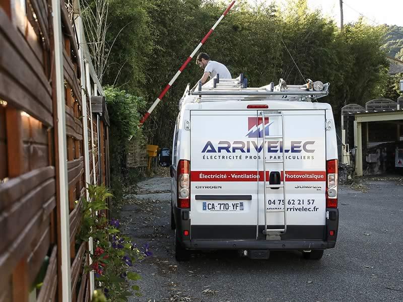 ARRIVELEC - Intervention chantier en Drôme - electricien valence