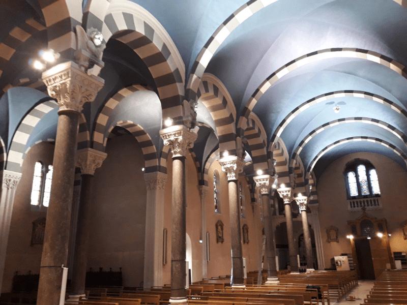 arrivelec - electricite generale - Eglise Notre Dame Valence rénovation éclairage